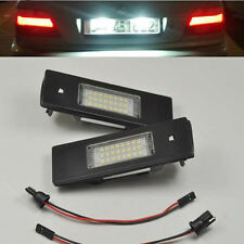 2x Error Free LED SMD LICENSE PLATE LIGHT For Fiat 1F Multipla Marea 1996-2002