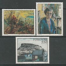 Mint Never Hinged/MNH Art, Artists Danish & Faroese Stamps