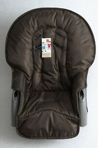 The brown seat pad cover for high chair Graco Blossom