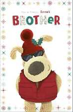 Boofle Great Brother Christmas Greeting Card Cute Xmas Cards
