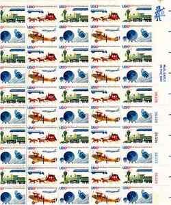 Scott #1572/5...10 Cent...Postal Service...Sheet of 50 Stamps
