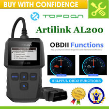 OBD2 Scanner OBD II Auto Fault Diagnostic Car Code Reader Engine Check Analyzer