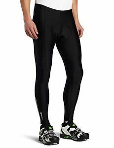 Canari Men's Pro Elite Gel Cycling Tights Padded Pants XL New Black Retail $60