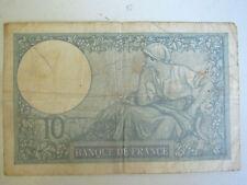 Franch banque de France Dix Francs 10 Francs 1941 bank note