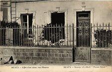CPA  Meaux - Effet d'un obus rue Pharon ... (292722)