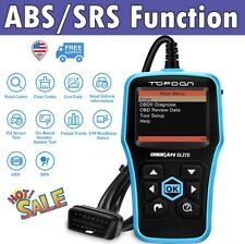Car ABS SRS Code Reader OBD2 EOBD Diagnostic Scanner Tool as FOXWELL NT630 Plus