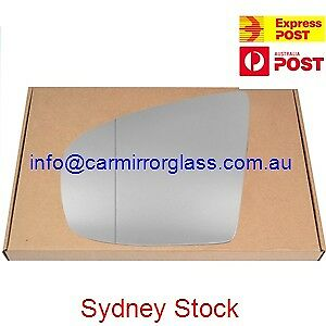 LEFT PASSENGER SIDE MIRROR GLASS FOR BMW X5 X6 E70 E71 2007 - 2013