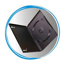 100 Standard 14mm Black Single DVD Movie Case Storage Box for CD DVD Disc