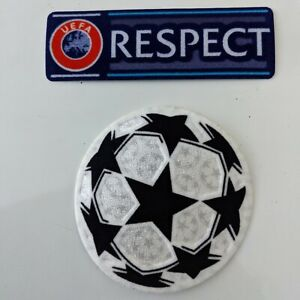 UEFA Champions League Football Soccer Patch Ball & Respect Patches 2012-2021 UCL