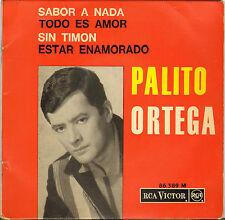 "PALITO ORTEGA ""SABOR A NADA"" LATIN POPCORN EP 1964 RCA VICTOR 86.389"