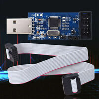 USB ISP USBASP Programmer AVR ATMEL ATMega8 Download Pin IDC Cable 3.3V  ZMM