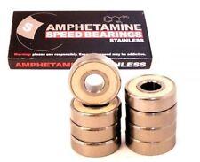 AMPHETAMINE Stainless Rodamientos Incl. Spacer Longboard Skateboard Minicruiser