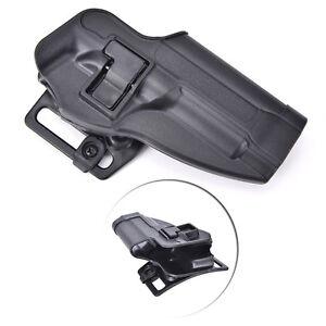Tactical Pistol Right Hand Belt Gun Holster Beretta M9 M92 96 Black Poly c3MAUK