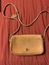 Vintage Coach Crossbody British Tan Handbag