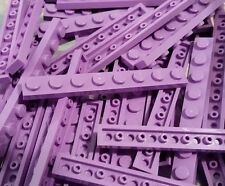 LEGO 10 Medium Lavender Purple Plates 1 x 8