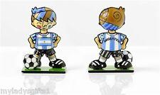 ROMERO BRITTO WORLD CUP MINI SOCCER PLAYER ARGENTINA NEW ITEM