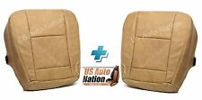 2005 2006 Ford F250 F350 King Ranch Driver & Passenger Bottom Leather Seat Cover