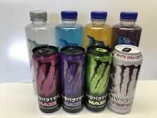 Monster Energy Drink Hydro,Maxx & Rehab White Dragon. A Total Of 8 Units