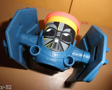 STAR WARS Play-Doh TIE FIGHTER Darth VADER vehicle TOY sith disney