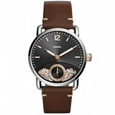 Watch Fossil The Commuter Twist ME1165 Automatic/Quartz, leather watch strap