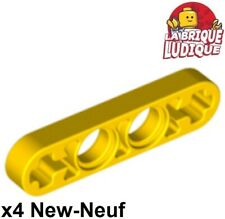 2x Liftarm 1x2 thin mince noir//black 41677 NEUF Lego Technic
