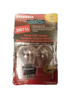 Brake Light-Long Life- 1 bulb parking, stop & Tail  Sylvania 3057LL BP