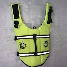 Paws Aboard Yellow Dog Life Vest Jacket Size Small - Medium
