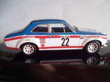 1970 FORD ESCORT 1600 Mk1 WINNER YPRES RALLY - STAEPELAERE/AERTS - IXO 1/43 NEW