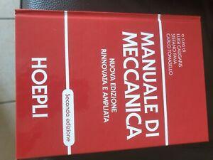 manuale meccanica hoepli 2 edizione