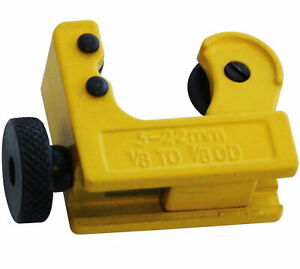 Mini Pipe Tube Tubing Cutter 3-22mm
