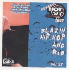 Hot 97 Blazin Hip Hop & R&B Vol. 37 CD 2004  Jay-Z, Pharell, Snoop Dogg, Missy
