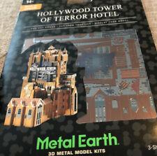 New ListingDisney Parks 3D Metal Model Kit Hollywood Tower Of Terror Hotel