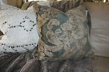 "Pottery Barn  Natalia Silk Jacquard Pillow Cover Nwt Size 22"" Square"