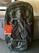 BRAND NEW Osprey Packs Farpoint 80 Travel Backpack Volcanic Grey S/M