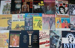 Lot of 70-80s Soundtracks (6) Records lp Vinyl Music Mix Original Movies NM
