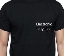 Ingeniero electrónico T Shirt Personalizado Tee de puestos de trabajo Camisa De Trabajo Personalizado