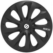 """Sparco Sparco SPC1470BK Set 4 copricerchi coppe auto Sicilia nero 14"""""""