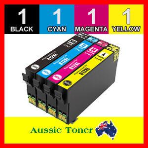 4x Generic Ink 812 812XL for Epson WorkForce Pro WF-3820 WF-3825 WF-4830 WF-4835