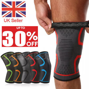 Knee Support Brace Compression Sleeve Arthritis Strap Patella Running Sport Gym