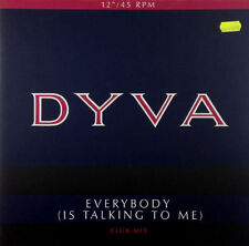 """Dyva - Everybody (Is Talking To Me) - 12"""" Maxi - K912 - washed & cleaned"""