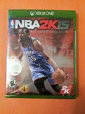 NBA 2K15 Microsoft Xbox One Factory Sealed! Free Shipping!