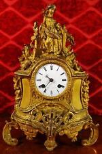 French Bronze Antique Mantel & Carriage Clocks
