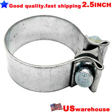 """Universal 2.5"""" 2 1/2"""" Inch 304 Stainless Steel Seal Band Exhaust O Clamp63mm"""