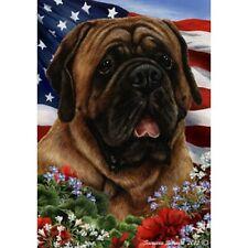 Patriotic (1) House Flag - Red Mastiff 16276