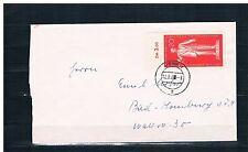 Gestempelte Briefmarken-Ganzsachen aus der DDR