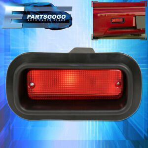 For Nissan 240Sx 200Sx Sentra 350Z JDM Edm Custom Red Lens Rear Bumper Fog Light