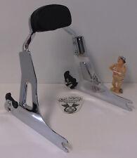 Harley Davidson '06 - up Dyna Detachable Sideplates Mini Sissy Bar, Backrest Pad