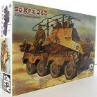 AFV Club 1:35 35263 SdKfz 263 Panzerfunkwagen 8-Rad Military Model Kit