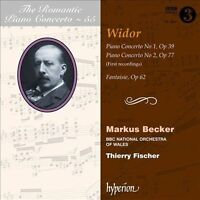 The Romantic Piano Concerto, Vol. 55: Widor (CD, Oct-2011, Hyperion)