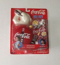 "Coca Cola 1998  ""Cola Caps"" New Picnic Playset Bubbles Girl Toy"